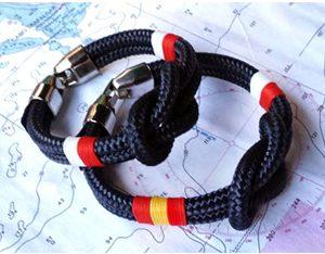 Pulseras náuticas con bandera de cantabria