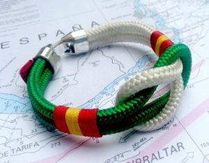 Pulsera marinera bandera de España