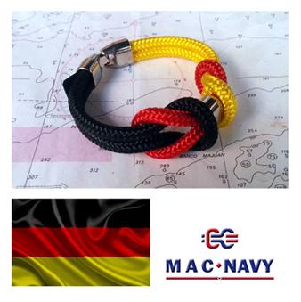 Pulseras con bandera de Alemania