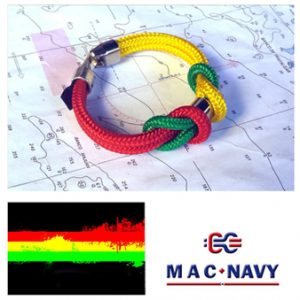 Pulseras de marinero con driza auténtica