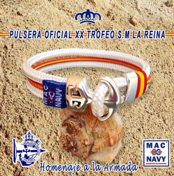 Pulsera Oficial Trofeo La Reina 2017