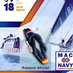 Pulsera Oficial XXII Semana Náutica Melilla